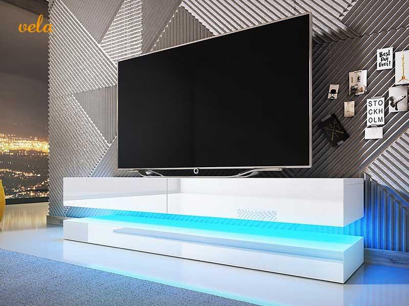 Mueble tv barato online  Con ruedas de diseo modernos esquinero