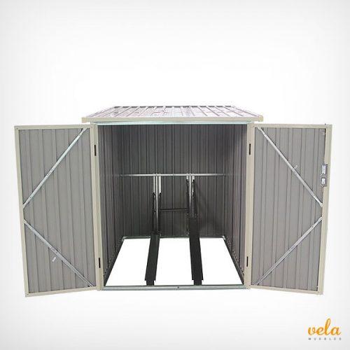 ARMARIO Exterior RESINA Aluminio  Madera  JARDN Top