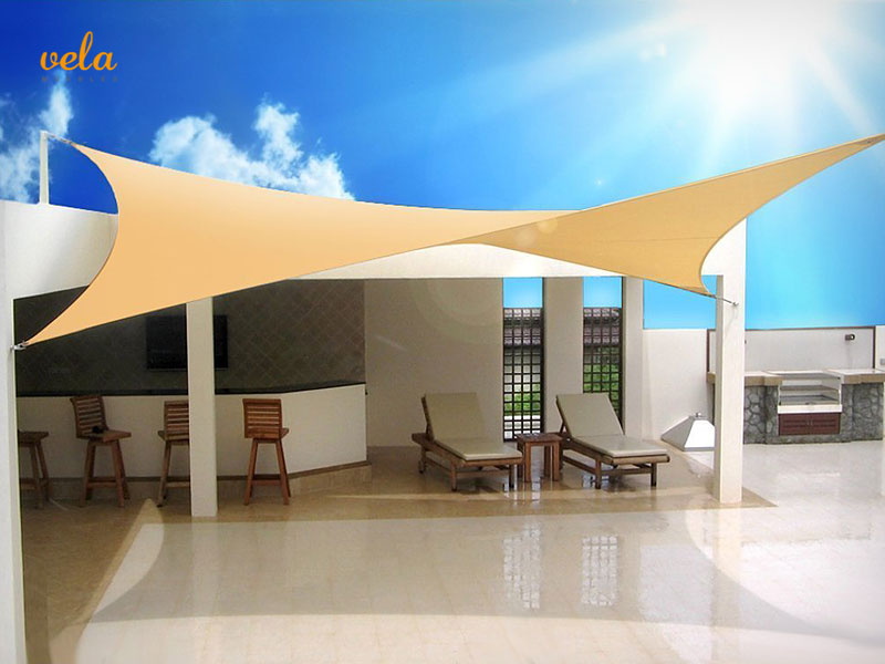 Toldos VELA baratos  Rectangular triangular parasol 2x2