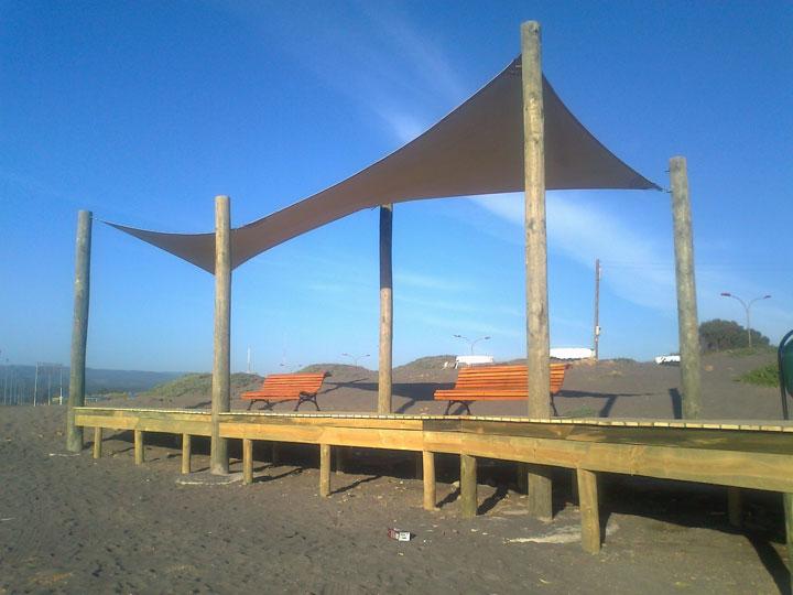 Sombreaderos 3X10m. Malla HDPE