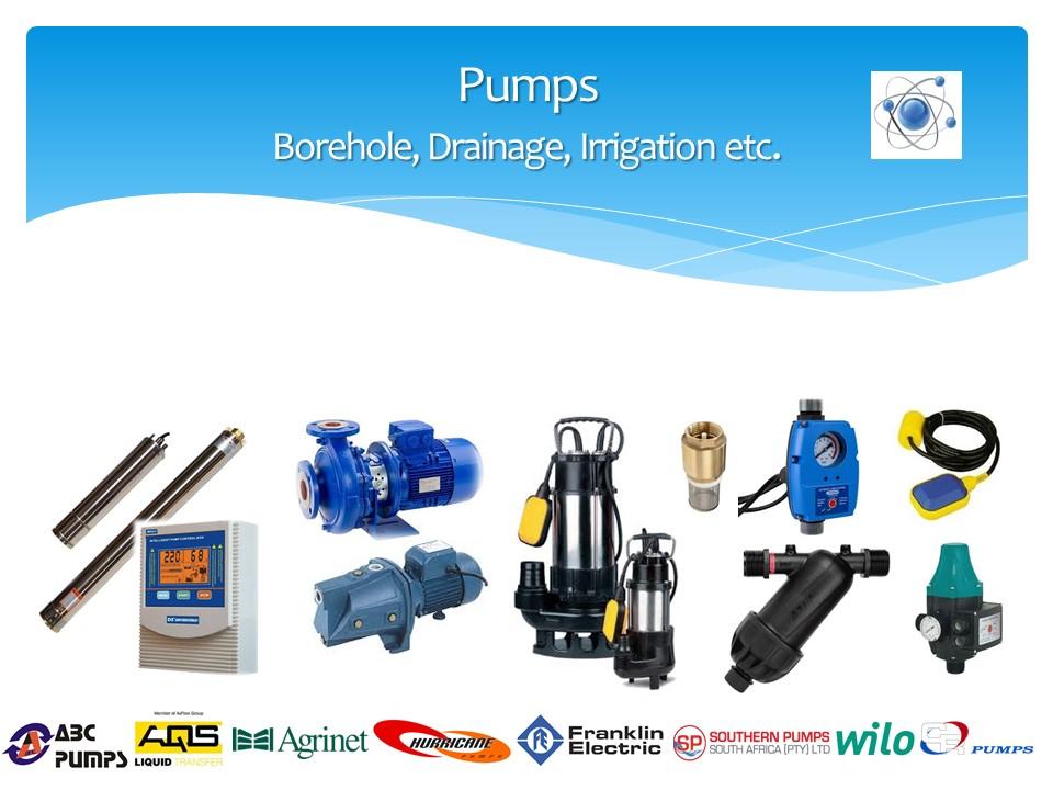Central High Trading 259CC Pumps, Borehole, Drainage, Irrigation etc.