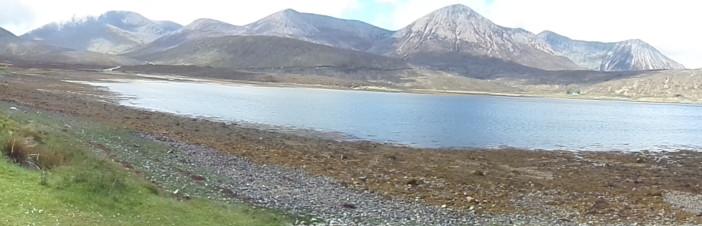 Pohoří Cuillin ve své majestátnosti