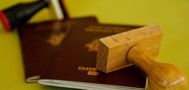 český pas pro dítě narozené v Anglii