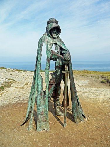 Socha krále Artuše, Tintagel