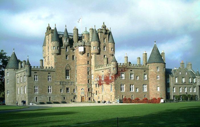 zamek glamis castle skotsko