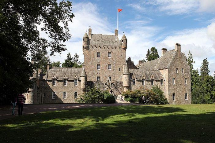 hrad Cawdor skotsko