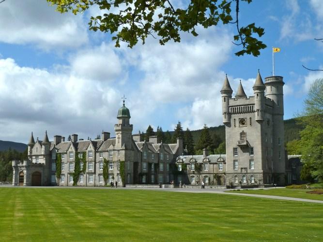 balmoral zamek