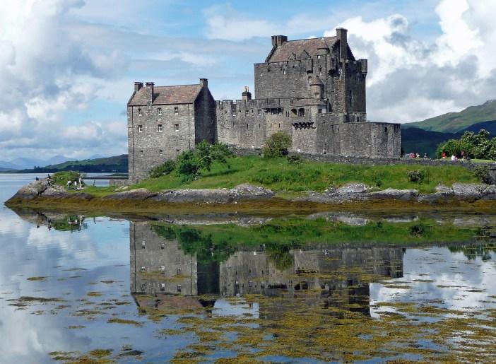 eilean donan hrad skotsko