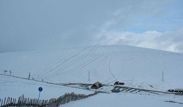 lyžování ve Skotsku The Lecht
