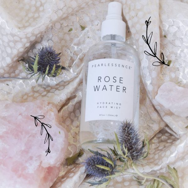 I love this rose water from Pearlessence