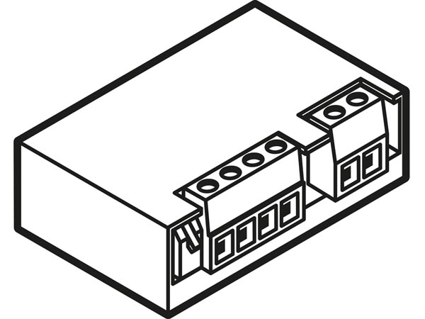 VMB1RYNOS: mini single channel relay module with potential
