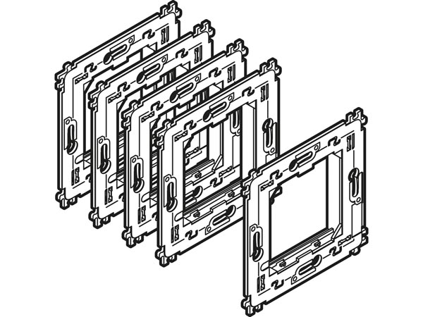 VMBGPFS: set of 5 supports for VMBGP glass control modules