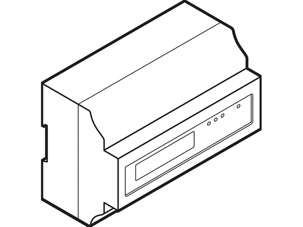 VMBKWH310: three-phase energy meter for DIN rail mounting