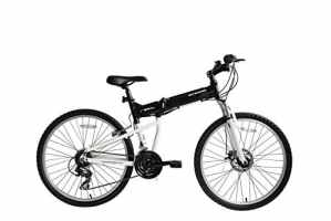 Ecosmo 26af18bl Shimano Vélo VTT Roues 26″ pliant en aluminium