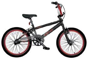 LA Bicycle / 82032 Vélo BMX Noir Hauteur de cadre 26,7 cm / Pneus 50,8 cm