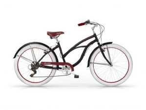 Mbm – Honolulu Femme Custom Cruiser 26» Bicyclette Vélo Femme Noir
