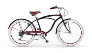 Mbm – Honolulu Homme Custom Cruiser 26» Bicyclette Vélo Man 6S Noir