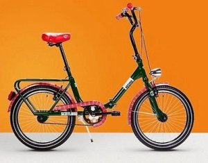 Reine vélo pliant 20Graziella Folding Scotland