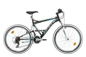 Vélo VTT 24» REBORN Tout Suspendu 21 Vitesses Enfant Garçon
