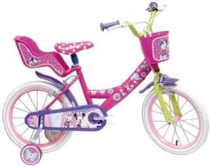 Disney Minnie Mouse Vélo Enfant Rose 16″