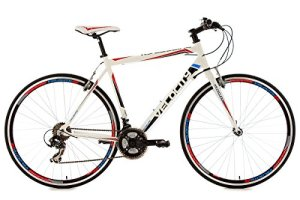 KS Cycling 122R Velocity Vélo de route Blanc 28″