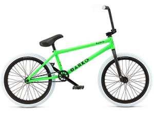 '»Radio Bikes Darko 2017Vélo BMX–Green–Vert Fluo–Fluo Mat 21.0″