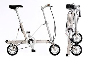 Vélo pliant CarryMe SD (Sans Engrenages) Argent