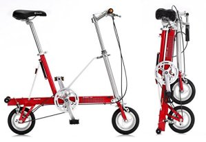 Vélo pliant CarryMe SD (Sans Engrenages) Rouge