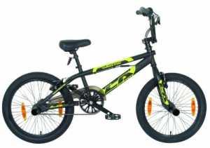 LA Bicycle / 82030 Vélo BMX Noir Hauteur de cadre 26,7 cm / Pneus 50,8 cm