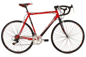 KS Cycling 260B Piccadilly Vélo de route Rouge 28″