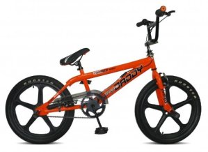 Rayons Rooster Big Daddy Mag Vélo BMX à roulettes Orange Orange/noir n/a