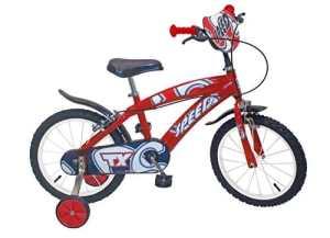 Toimsa – 476 – Vélo pour Enfant – TX – Garçon – 16″ – 5 à 8 ans