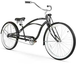 Firmstrong Urban Homme Deluxe Single Speed stretch Beach Cruiser Vélo, noir