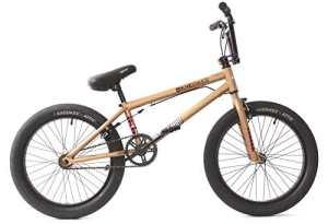 KHE BMX Vélo Dirty Harry Mat Bronze Doré 11,4kg seulement.