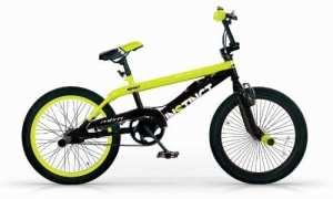 Mbm – Bmx Instinct 20» Freestyle Free Style Bicyclette Vélo 1S Jaune