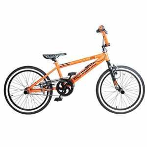 Rooster Big Daddy Spoked Édition spéciale Vélo BMX 20″ Avec pegs & rotor, Homme, orange/noir