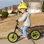 Enkeeo 12″ Enfant-Vélo Draisienne Sans Pédalier Pour 2~6 Ans Enfants, Cadre en Acier au Carbone, Guidon et Siège Réglables, Capacité de 50 kg (Noir)