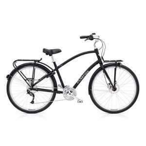 Electra Townie Commute 27d EQ Pantalon de vélo 28pouces Beach Cruiser Éclairage, 55931 taille unique Noir
