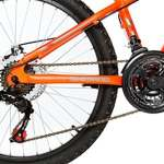 Moma Bikes Vélo VTT Enfant, GTT24, Aluminium, Shimano 21V, Freins a Disque, Suspension Avant