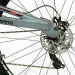 Moma Bikes Vélo VTT, EQX 29″, Aluminium, Shimano 24V, Freins a Disque, Double Suspension (Plusieurs Tailles)