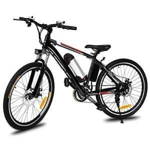 ZEARO VTT Electrique Adulte e Bike Mixte Luxe alu kit Velo Electrique Tout Terrain UK Plug