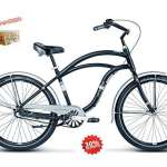kross sa Vélo Cruiser on Citybike Cylindre de CTB le Grand Bowmann Noir