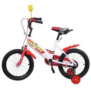 Ridgeyard 16 pouces Vélo Enfant étude d'apprentissage équitation vélo garçons filles vélo avec stabilisateurs Vélo pour Enfant de 3 à 5 ans(rouge)