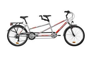 Atala – Tandem Due Easy 21 – Vélo de Tourisme 26″ (66 cm)