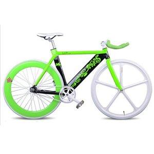 Bazaar 700c inbike engins fixes vélo multicolore aluminium vélo