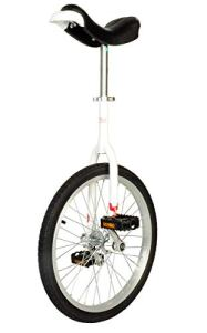 Einrad Qu-AX Monocycle 406 mm/2011 50,8 cm, Mixte, Blanc