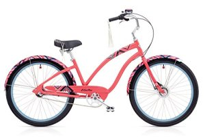 Electra Morning Star 3i Damen Fahrrad 26″ Pink klassisch Beach Cruiser Rad Retro 3 Gang, 537766