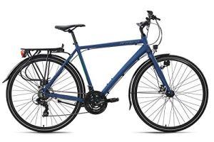 KS Cycling VTC Homme 28» Aluminium Antero Bleu TC 56 cm