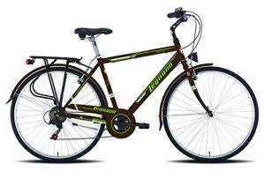 Legnano Cycle 480Portofino Vélo de ville pour homme, Homme, 5L480M, marron, 48