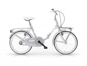 Mbm – Angela 20 » Bicyclette Vélo Pliant Folding Bike Argent
